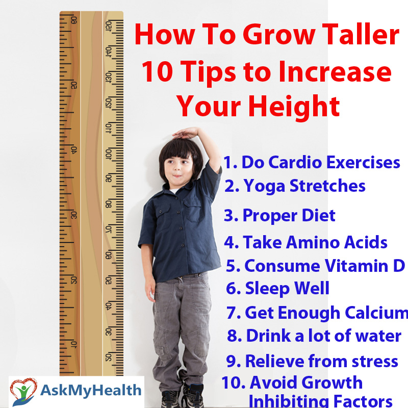 How To Get Taller Fast 10 Tips To Make Yourself Grow Taller Naturally